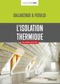 Couverture de l'ouvrage L'isolation thermique