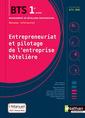 Couverture de l'ouvrage Entrepreneuriat et pilotage de l'entreprise hôtelière (EPEH)