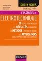 Couverture de l'ouvrage Electrotechnique - Licence 1 / 2 / IUT