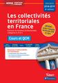 Couverture de l'ouvrage Collectivites territoriales en france - cat a, b et c - cours et qcm (les) 8ed