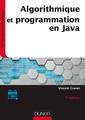 Couverture de l'ouvrage Algorithmique et programmation en Java