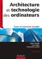 Couverture de l'ouvrage Architecture et technologie des ordinateurs