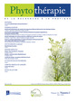 Couverture de l'ouvrage Phytothérapie. Vol. 16 N° 2 - Avril 2018