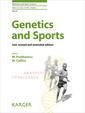 Couverture de l'ouvrage Genetics and Sports