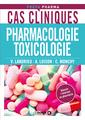 Couverture de l'ouvrage Cas cliniques pharmacologie toxicologie