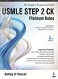 Couverture de l'ouvrage USMLE Platinum Notes Step 2 CK