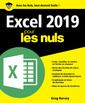 Couverture de l'ouvrage Excel 2019 pour les nuls