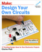 Couverture de l'ouvrage Make: Design Your Own Circuits