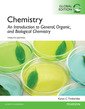 Couverture de l'ouvrage Chemistry: An Introduction to General, Organic, and Biological Chemistry, Global Edition