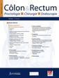 Couverture de l'ouvrage Côlon & Rectum. Volume 12 N° 2 - mai 2018