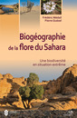 Couverture de l'ouvrage Biogéographie de la flore du Sahara