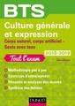 Couverture de l'ouvrage BTS Culture générale et Expression 2018-2019