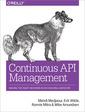 Couverture de l'ouvrage Continuous API Management
