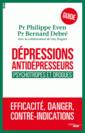 Couverture de l'ouvrage Dépressions, antidépresseurs - psychotropes et drogues