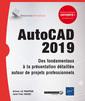 Couverture de l'ouvrage AutoCAD 2019