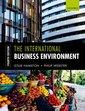 Couverture de l'ouvrage The International Business Environment 4e