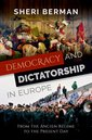 Couverture de l'ouvrage Democracy and Dictatorship in Europe