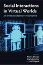 Couverture de l'ouvrage Social Interactions in Virtual Worlds