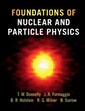 Couverture de l'ouvrage Foundations of Nuclear and Particle Physics