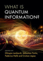 Couverture de l'ouvrage What is Quantum Information?