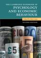 Couverture de l'ouvrage The Cambridge Handbook of Psychology and Economic Behaviour