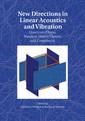 Couverture de l'ouvrage New Directions in Linear Acoustics and Vibration