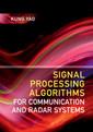 Couverture de l'ouvrage Signal Processing Algorithms for Communication and Radar Systems