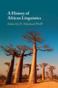Couverture de l'ouvrage A History of African Linguistics