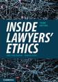 Couverture de l'ouvrage Inside Lawyers' Ethics