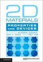Couverture de l'ouvrage 2D Materials