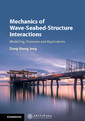 Couverture de l'ouvrage Mechanics of Wave-Seabed-Structure Interactions