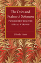 Couverture de l'ouvrage The Odes and Psalms of Solomon