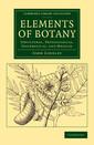 Couverture de l'ouvrage Elements of Botany