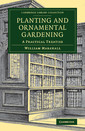 Couverture de l'ouvrage Planting and Ornamental Gardening