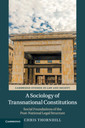 Couverture de l'ouvrage A Sociology of Transnational Constitutions