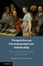 Couverture de l'ouvrage Perspectives on Environmental Law Scholarship
