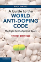 Couverture de l'ouvrage A Guide to the World Anti-Doping Code