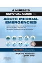 Couverture de l'ouvrage A Nurse's Survival Guide to the Acute Medical Emergency Updated Edition