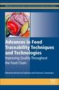 Couverture de l'ouvrage Advances in Food Traceability Techniques and Technologies