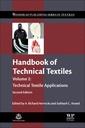 Couverture de l'ouvrage Handbook of Technical Textiles
