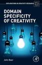Couverture de l'ouvrage Domain Specificity of Creativity