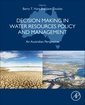 Couverture de l'ouvrage Decision Making in Water Resources Policy and Management