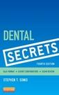 Couverture de l'ouvrage Dental Secrets