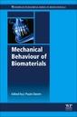 Couverture de l'ouvrage Mechanical Behaviour of Biomaterials