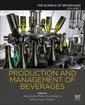 Couverture de l'ouvrage Production and Management of Beverages