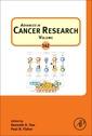 Couverture de l'ouvrage Advances in Cancer Research