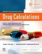 Couverture de l'ouvrage Drug Calculations