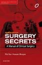 Couverture de l'ouvrage Surgery Secrets
