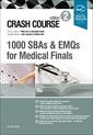 Couverture de l'ouvrage Crash Course: 1000 SBAs and EMQs for Medical Finals