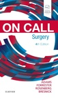 Couverture de l'ouvrage On Call Surgery